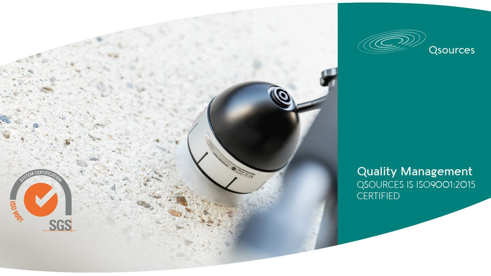 Qsources sound sources Infra-Qsources ISO9001 Qoms1